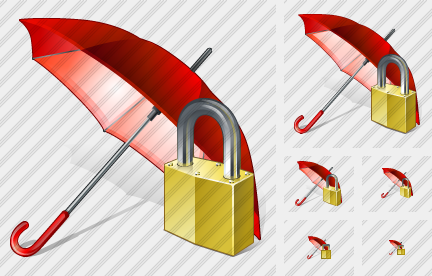 Icone Umbrella Locked