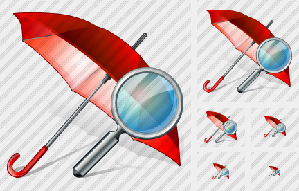 Icone Umbrella Search
