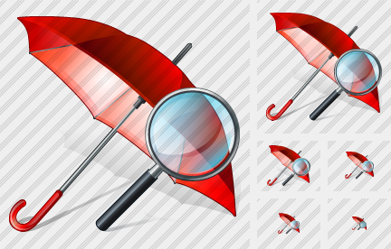 Icone Umbrella Search2