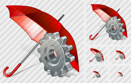 Umbrella Settings Icon
