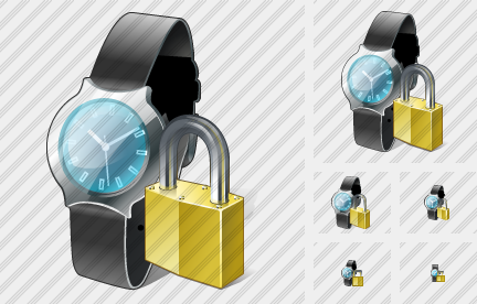 Watch Locked Icon