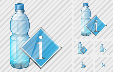 Icone Water Bottle Info