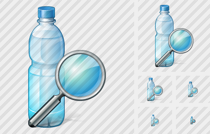 Icone Water Bottle Search