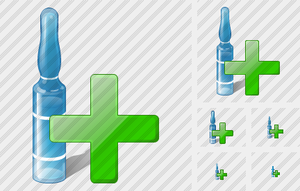 Ampoule Add Icon