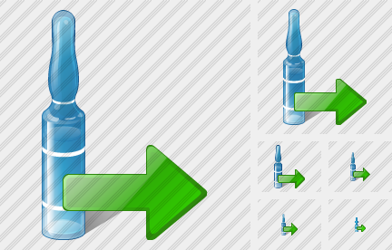 Ampoule Export Icon