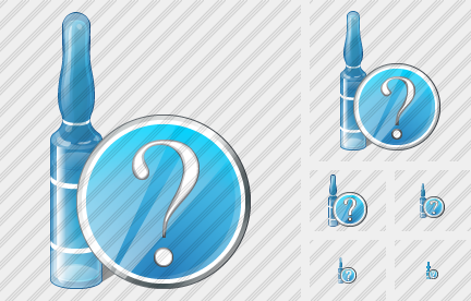 Ampoule Question Icon