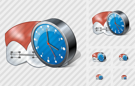 Icone Braces Clock