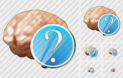 Brain Question Icon