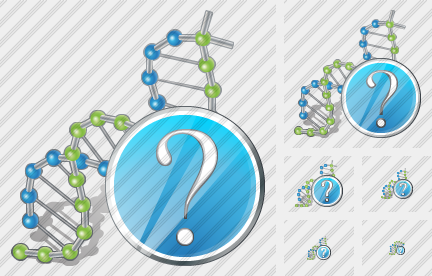 Dna Question Icon