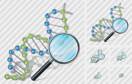 Dna Search 2 Icon
