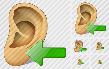Ear Import Icon