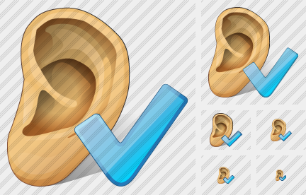 Ear Ok Icon