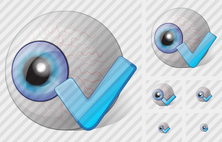 Eye Ok Icon