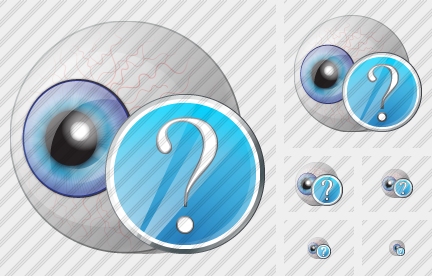 Eye Question Icon