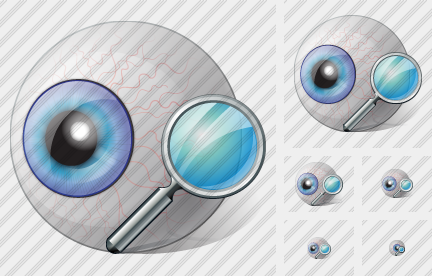 Eye Search Icon