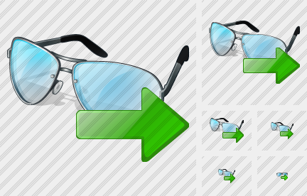 Glasses Export Icon