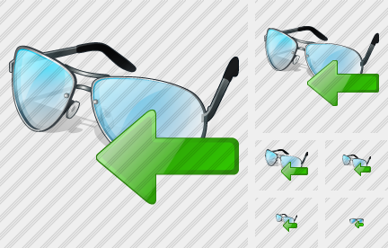 Glasses Import Icon