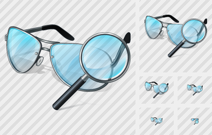 Glasses Search 2 Icon