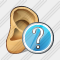 Ear Question Icon