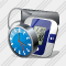 Tonometer Clock Icon