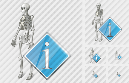 Icone Skeleton Info