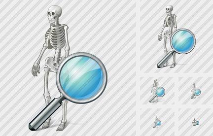 Icone Skeleton Search