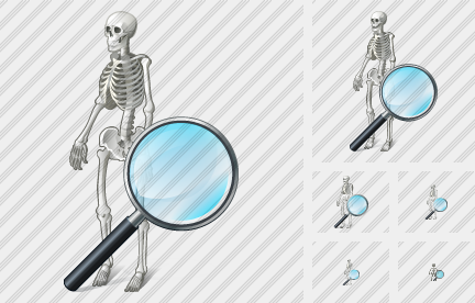 Skeleton Search 2 Icon