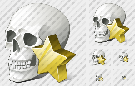 Icone Skull Favorite