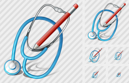 Icone Stethoscope Edit