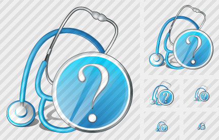 Stethoscope Question Icon