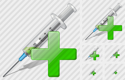 Syringe Add Icon
