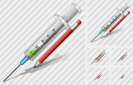 Syringe Edit Icon