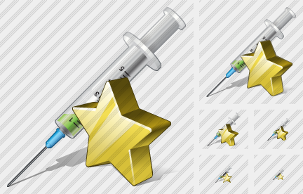 Syringe Favorite Icon