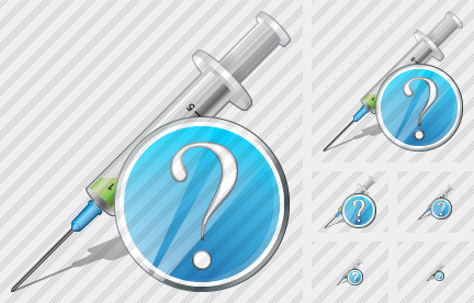 Syringe Question Icon