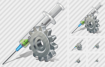 Syringe Settings Icon