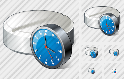 Tablet Clock Icon