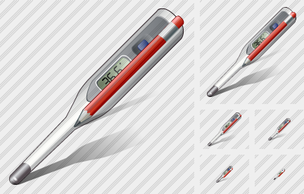 Thermometer Edit Icon