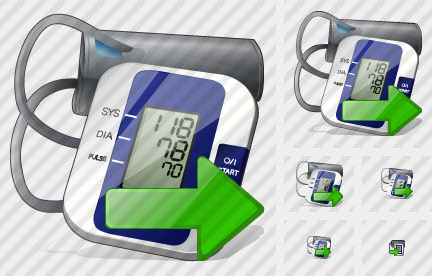 Tonometer Export Icon