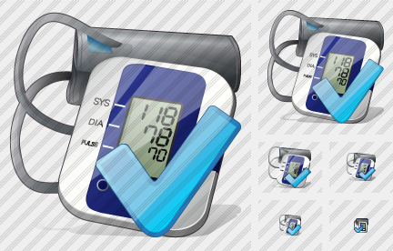 Tonometer Ok Icon