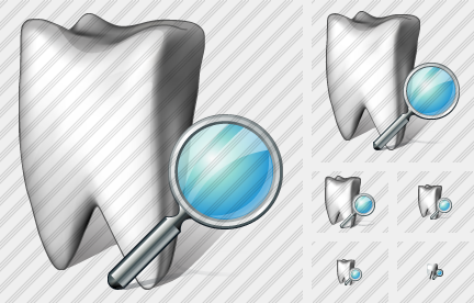 Tooth Search Icon
