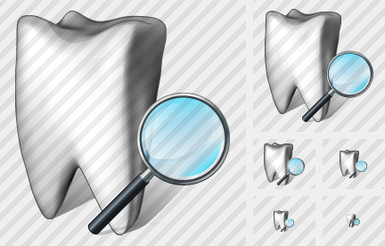 Tooth Search 2 Icon