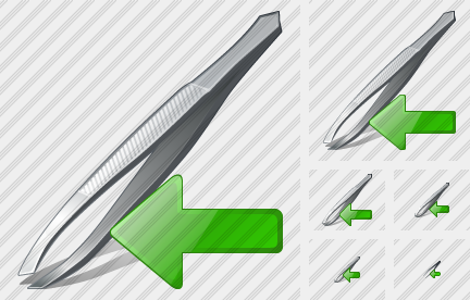 Tweezers Import Icon