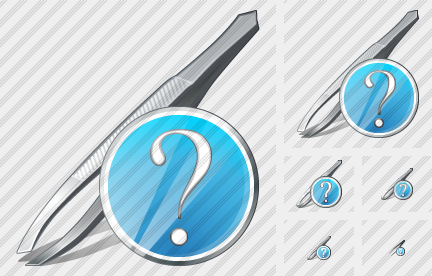 Tweezers Question Icon