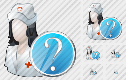User Nurse Question Icon