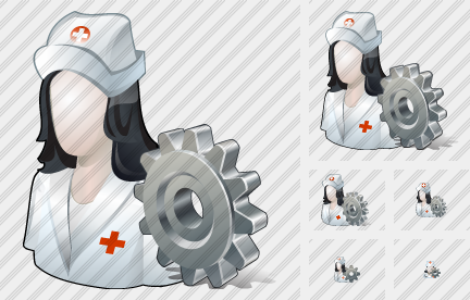 User Nurse Settings Icon