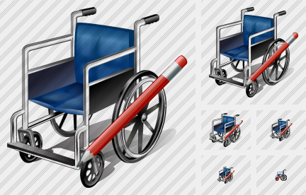 Wheel Chair Edit Icon