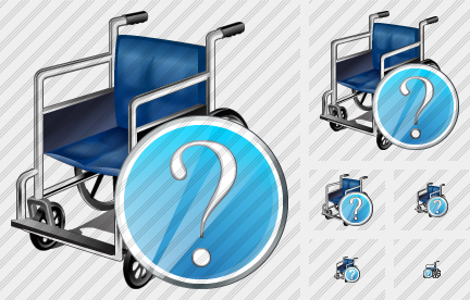 Wheel Chair Question Icon