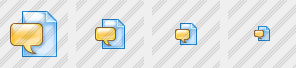 File Message Icon
