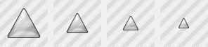 Triang Gray Icon