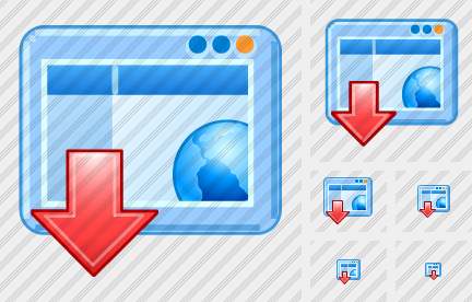 Browser Hide Icon